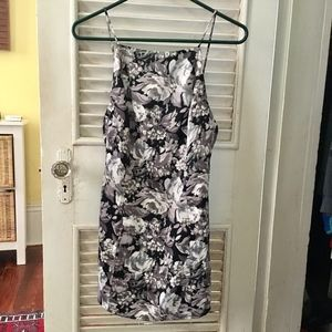 Nasty Gal After Party Backless Retro Mini Dress XS